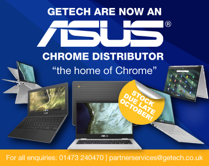 Getech are now an ASUS Chrome Distributor