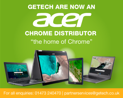 Getech are now an Acer Chrome distributor