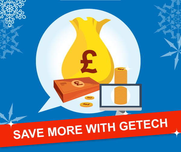 Save more with Getech