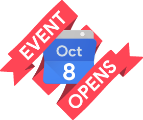 Event live from 8 October